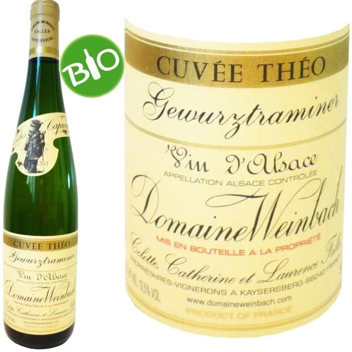 Domaine de Weinbach 2016 Gewurztraminer - Vin blanc d'Alsace