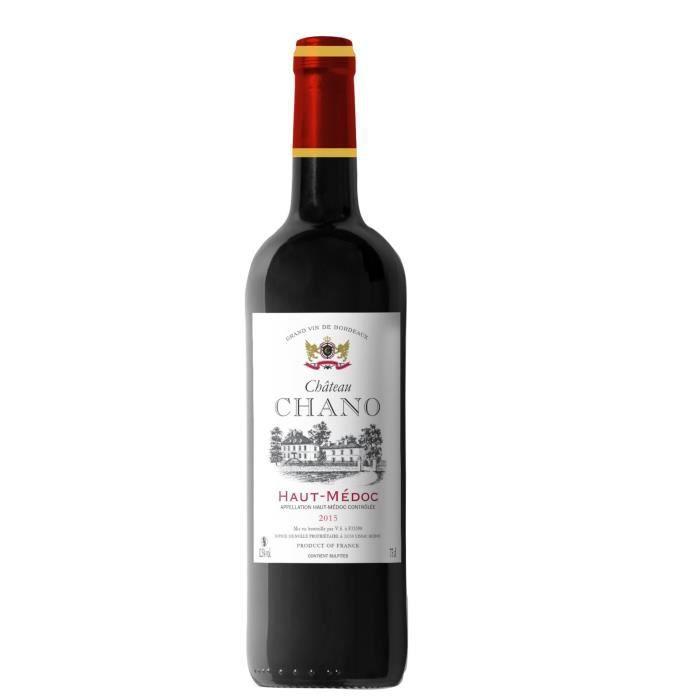 Château Chano 2015 Haut-Médoc - Vin Rouge du Bordelais