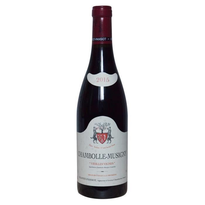 Geantet-Pansiot 2015 Chambolle-Musigny Vieilles Vignes - Vin rouge de Bourgogne