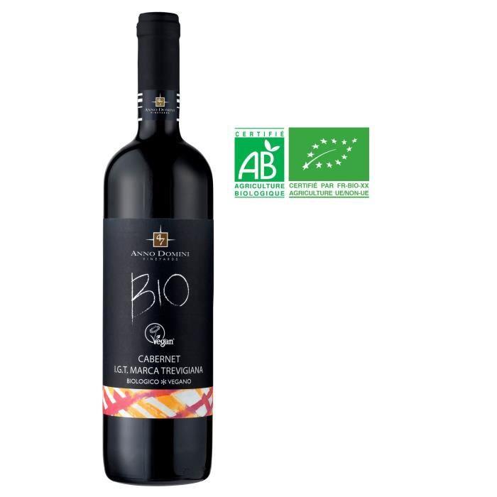 Anno Domini Cabernet Sauvignon Vegan - Vin rouge d'Italie - Bio