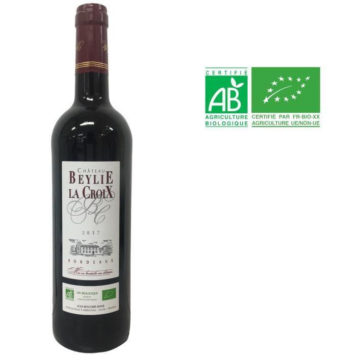 Château Beylie La Croix 2017 Bordeaux - Vin rouge de Bordeaux - Bio