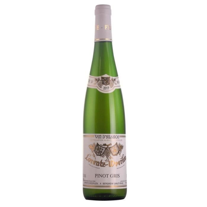 Gustave Lorentz 2017 Pinot Gris - Vin blanc d'Alsace - Bio