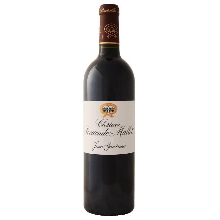 Château SOCIANDO-MALLET 2017 Haut-Médoc - Vin Rouge du Bordelais