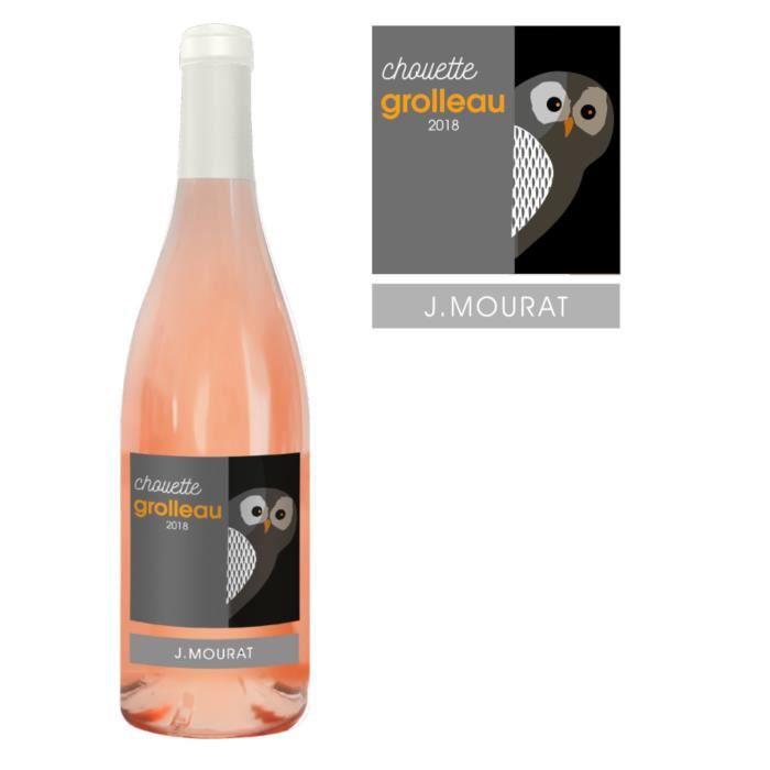 J. Mourat Chouette Grolleau - Vin rosé du Val de Loire