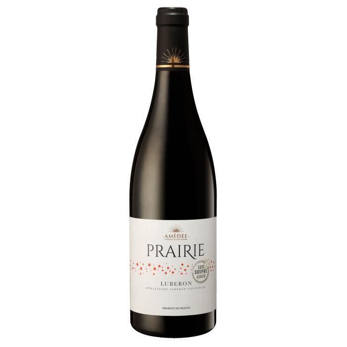 Prairie 2018 Luberon - Vin Rouge de la Vallée du Rhône - Sans Soufre