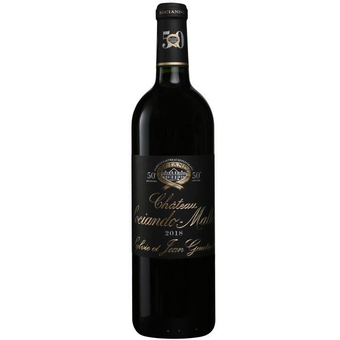Château Sociando-Mallet 2018 Haut-Médoc - Vin rouge de Bordeaux