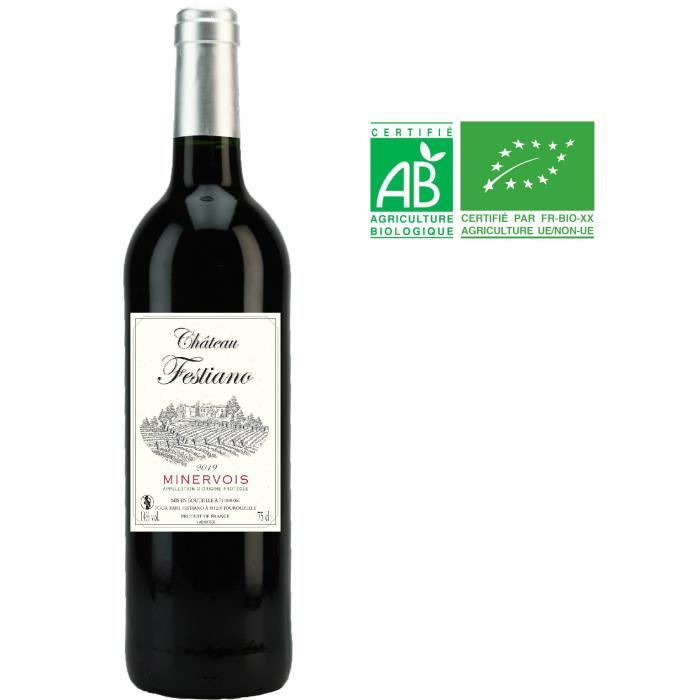 Château Festiano 2019 Minervois - Vin rouge du Languedoc Roussillon