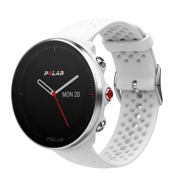 POLAR Vantage M Montre GPS multisport - Blanc - Taille M/L