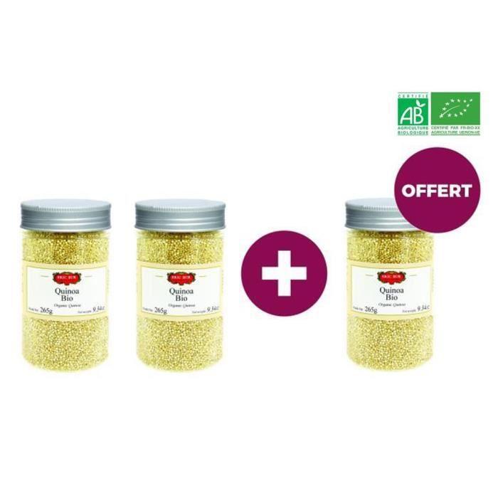 [LOT DE 3] ERIC BUR - Quinoa - BIO - 265 G