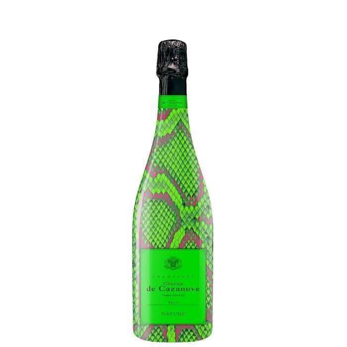 Champagne Charles de Cazanove Cuvée Sauvage Fluo Brut Nature - 75 cl