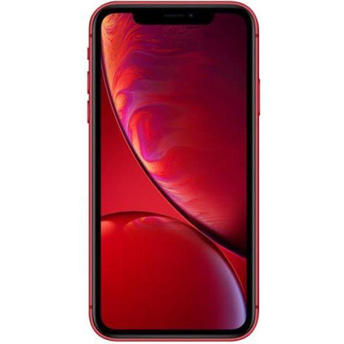 APPLE Iphone Xr 64 Go Rouge - Reconditionné - Très bon état