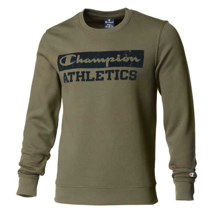 CHAMPION Sweat col rond Sweat col rond - Homme - Gris