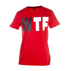 WTF T-shirt Homme Logo - Rouge