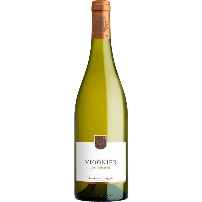 Vignobles Lorgeril Les Terrasses Viognier 2020 Pays d'Oc - Vin blanc de Languedoc-Roussillon