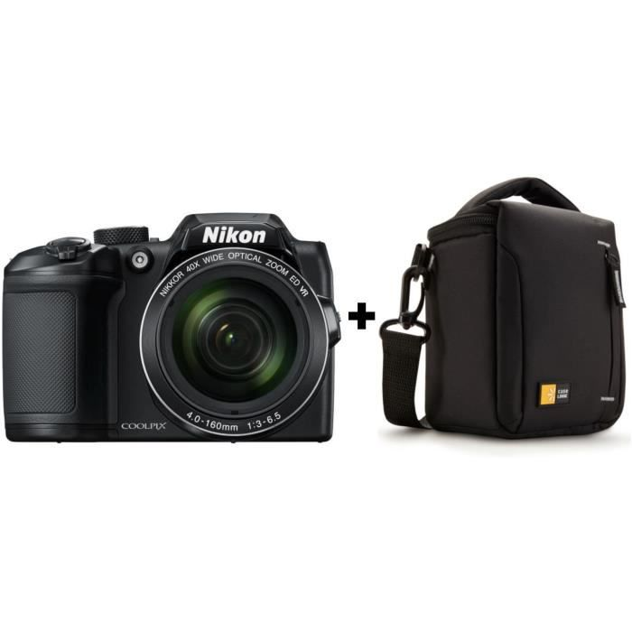 NIKON COOLPIX B500 - Appareil photo numérique Bridge - Bluetooth - Noir + Sacoche bridge