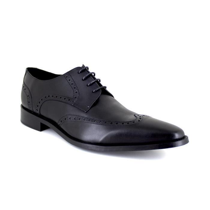 J.BRADFORD JB-GLOC Noir Chaussure Homme