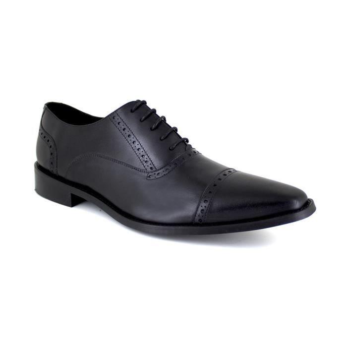 J.BRADFORD JB-GLUM Noir Chaussure Homme