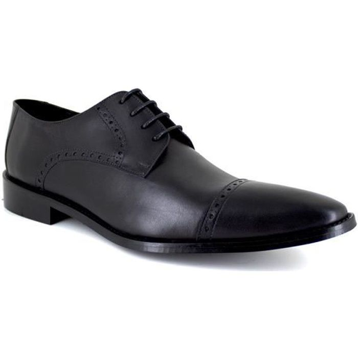 J.BRADFORD JB-GREG Noir Chaussure Homme