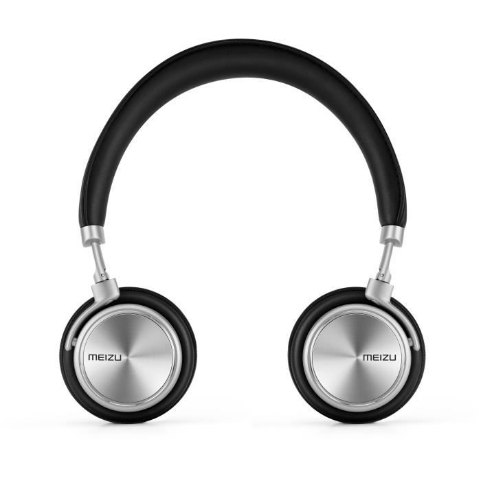 MEIZU Casque filaire Audio HD50 - Noir - 103 dB - Câble 1,2 m - Rotation multi-angles