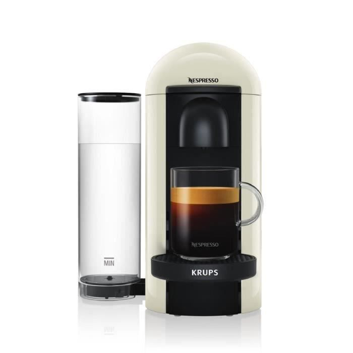 Nespresso Vertuo Plus Ivoire 1,2L - Machine à café Krups YY3916FD