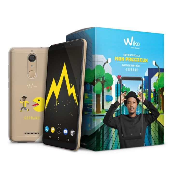 Wiko Pack View 32 Go Soprano Gold