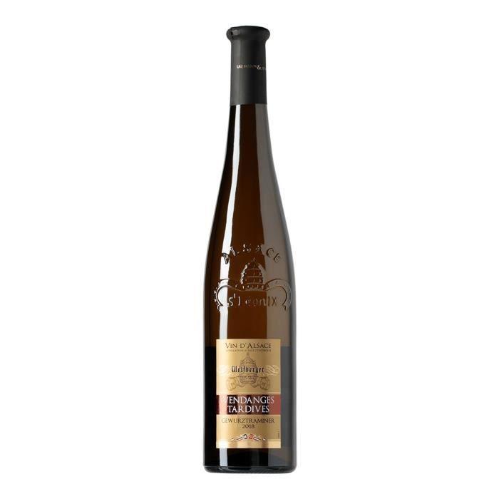 Wolfberger Vendanges Tardives 2017 Gewurztraminer - Vin blanc d'Alsace