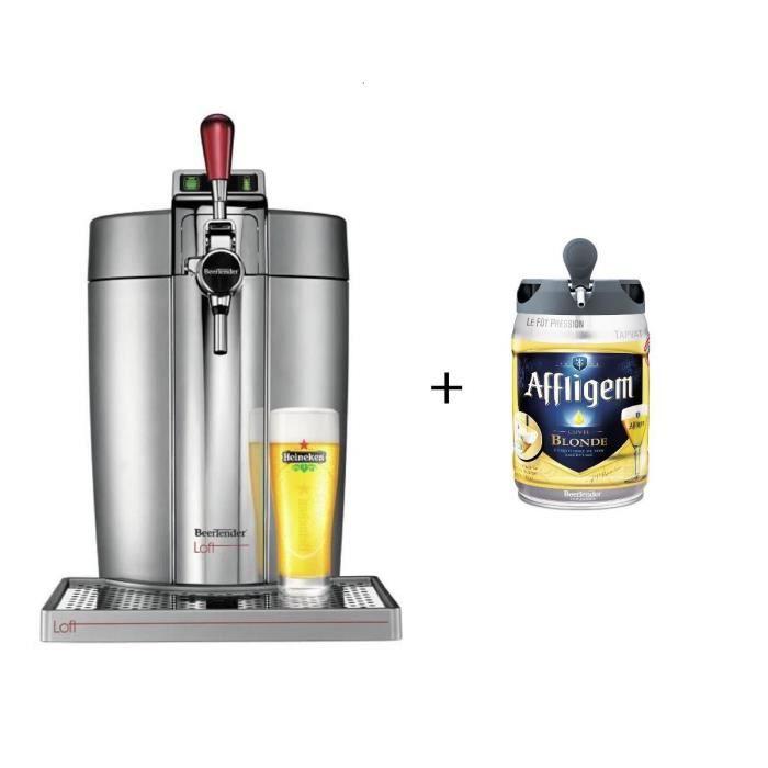 KRUPS VB700E00 Beertender Beertender Loft + 1 fût Affligem
