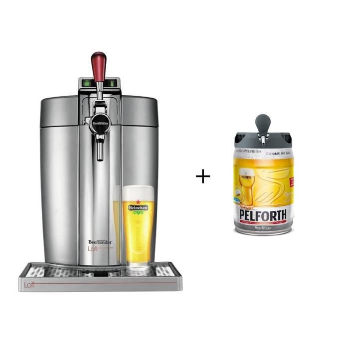 KRUPS VB700E00 - Beertender Loft + 1 fût Pelforth