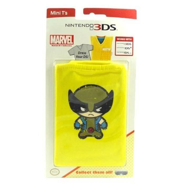 Mini T-Shirt de Protection Marvel Wolverine pour console 3DS