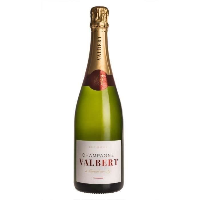 Champagne Valbert Brut Réserve - 75 cl