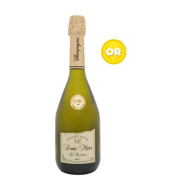 Champagne Denis Marx Cuvée Le Confident Brut - 75 cl