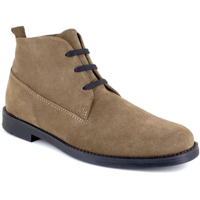 J.BRADFORD Chaussures Bottines JBPOLSON411MA Marron Homme