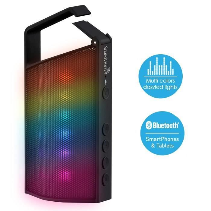 SOUND VISION SV Hook Enceinte bluetooth portable multi-colors