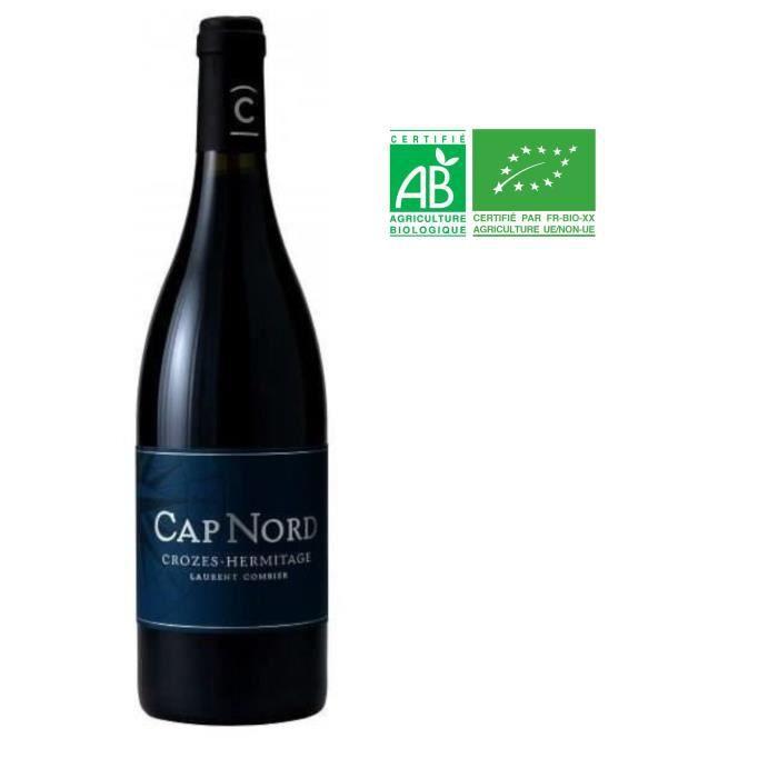 Cap Nord Domaine Laurent Combier 2016 Crozes Hermitage - Vin rouge de la Vallée du Rhône Bio