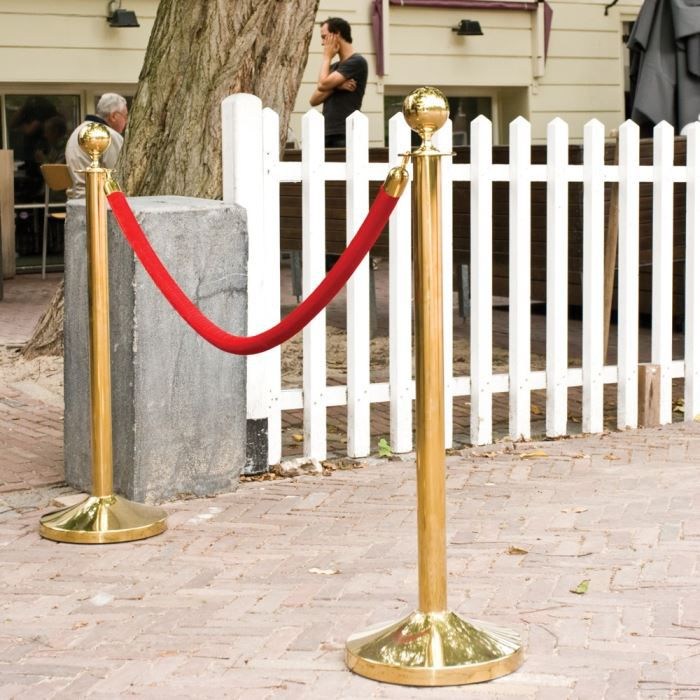 Cordon 1.5 m Rouge embouts or