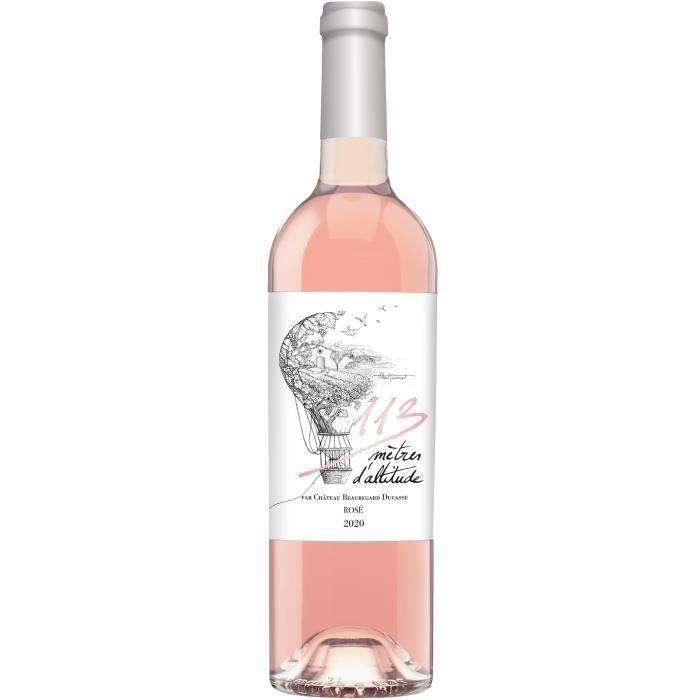 113 mètres d'altitude 2020 IGP Atlantique - Vin rosé de Bordeaux