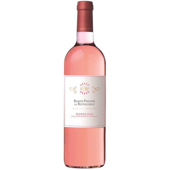 Baron Philippe de Rothschild 2016 Bordeaux - Vin rosé de Bordeaux