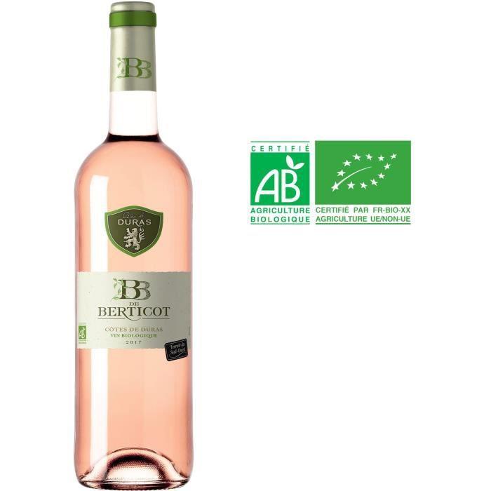 BB de Berticot 2019 Côtes de Duras - Vin rosé du Sud-Ouest - Bio