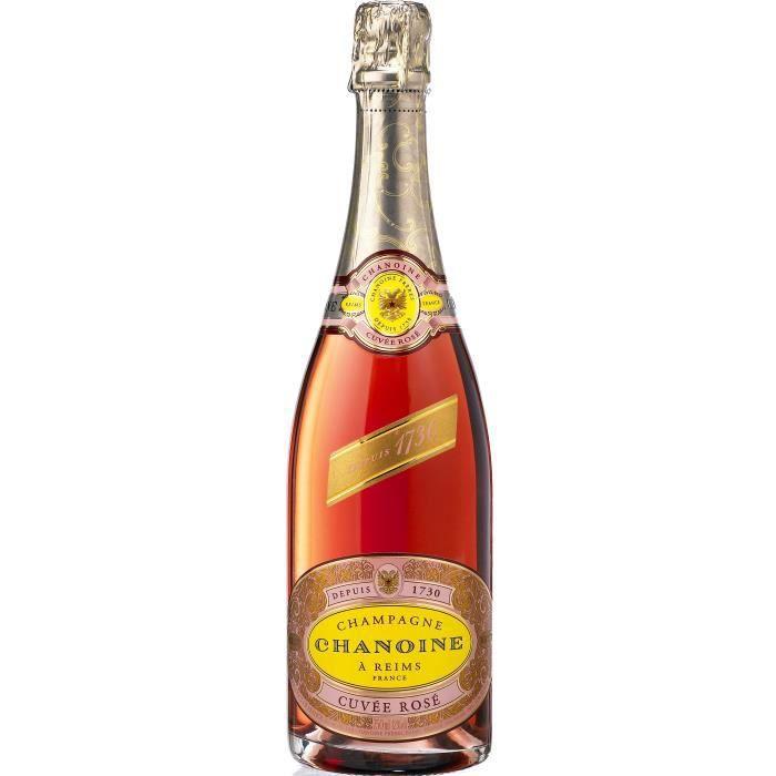 Champagne Chanoine Rosé - 75 cl