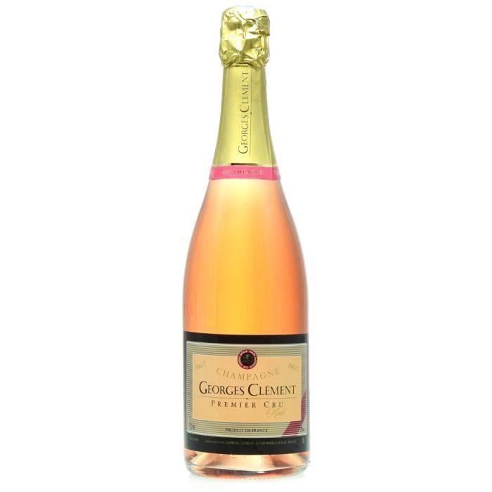 Champagne Georges Clément Rosé - 75 cl