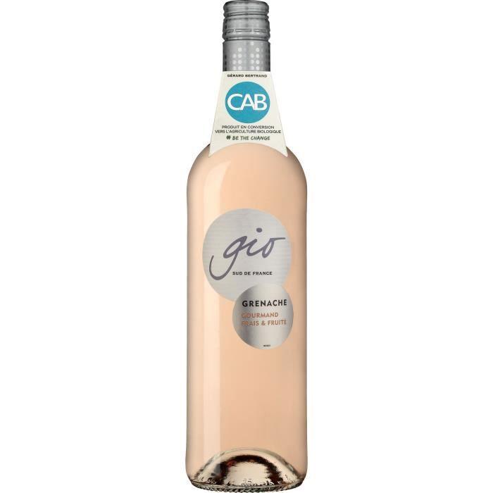 Gérard Bertrand Gio Grenache Rosé IGP Pays d'Oc - Vin rosé du Languedoc-Roussillon