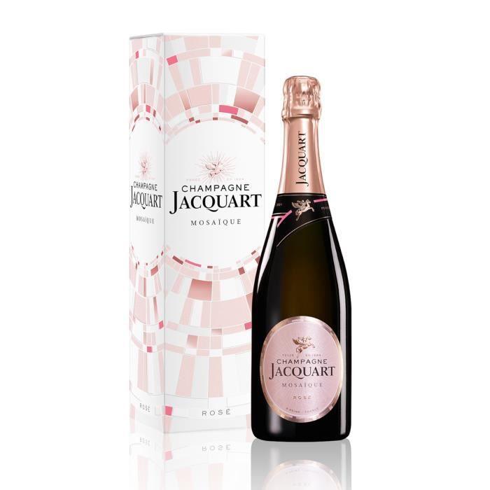 Champagne Jacquart Mosaïque Rosé - 75 cl