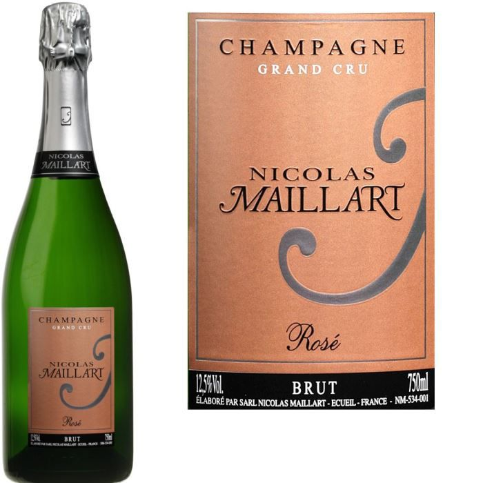 Champagne Nicolas Maillart Brut Rosé x1