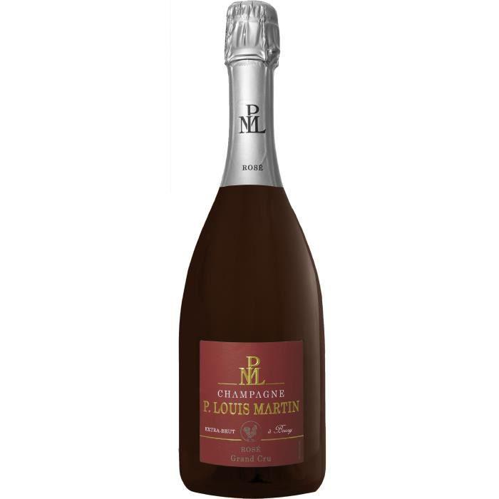 Champagne Paul Louis Martin Grand Cru Extra Rosé Brut
