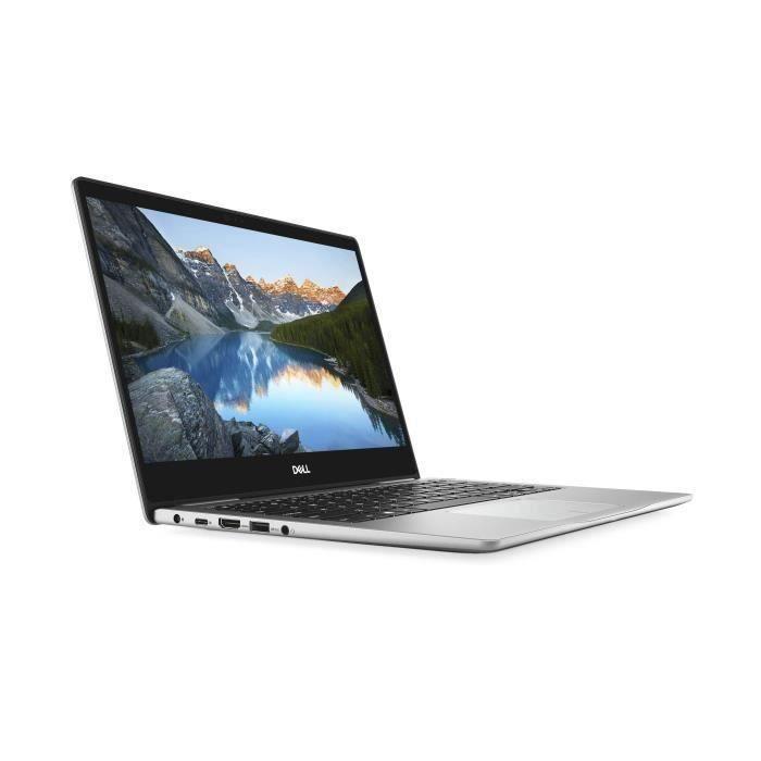 DELL PC Portable - Inspiron 13 7380 - 13,3- FHD - Core i5-8265U - RAM 8 Go - Stockage 256Go SSD - Windows 10 Clavier AZERTY Français