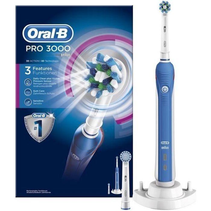 Oral-B Pro 3000 Brosse à dents électrique