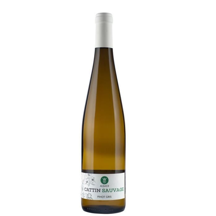 Cattin Sauvage 2018 Pinot Gris - Vin blanc d'Alsace
