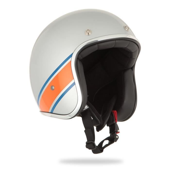 STORMER Casque Jet Pearl Loud