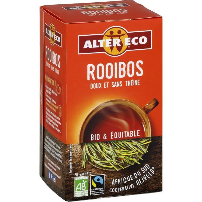 Rooibos nature bio & équitable 40 g Alter Eco