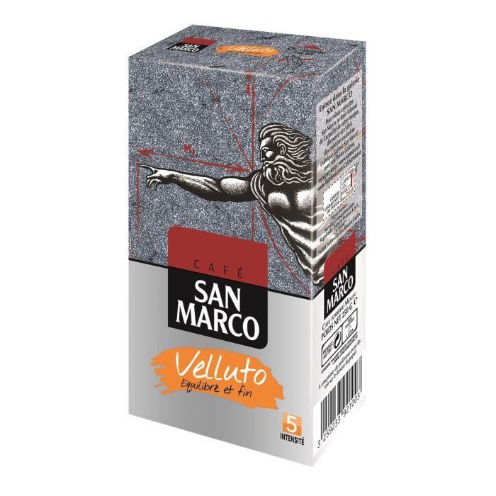 SAN MARCO Café Moulu Velluto N°5 - 250 g